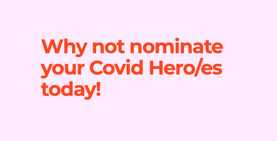"""Featured image for """"Celebrating Covid Heroes in 2020"""""""